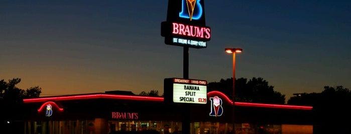 Braum's Ice Cream & Burger Restaurant is one of Tempat yang Disukai Taco.