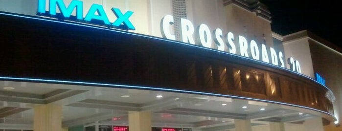 Regal Crossroads & IMAX - Cary is one of Tempat yang Disukai Ethan.
