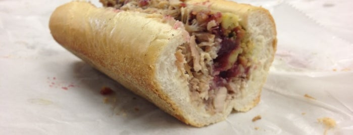 Capriotti's Sandwich Shop is one of Diners Drive-Ins and Dives & Roadfood.