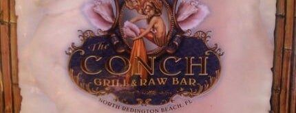 The Conch Grill & Raw Bar is one of St Pete Beaches Feed Your Face Guide.