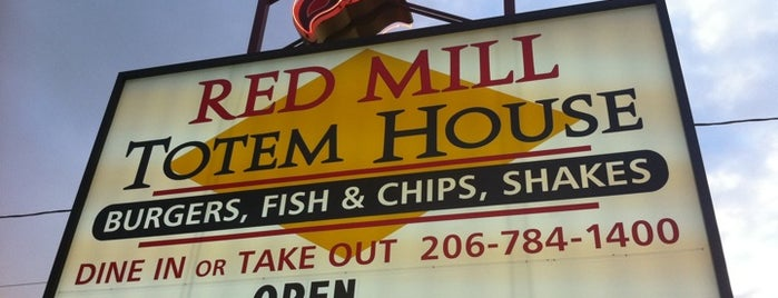 Red Mill Totem House is one of Seattle Met's Best Cheap Eats 2011.