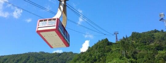 湯沢高原ロープウェーステーション is one of 神輿で訪れた場所-1.