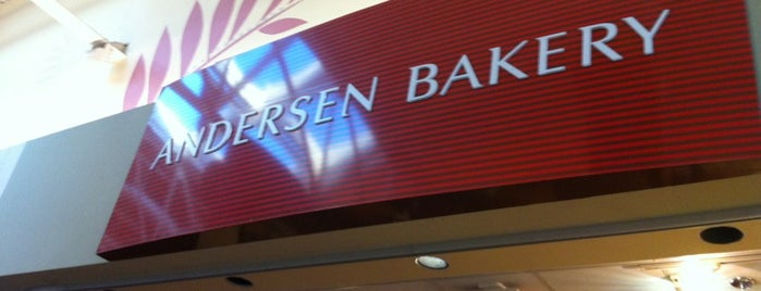 Andersen Bakery is one of San Jose.