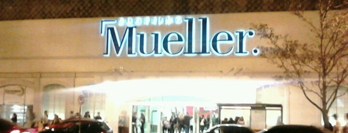 Shopping Mueller is one of Spend money.