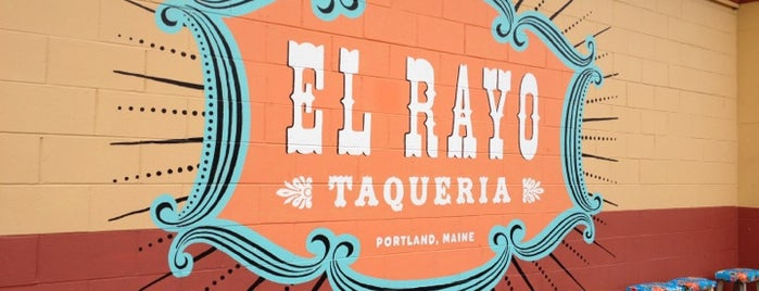 El Rayo Taqueria is one of Maine.
