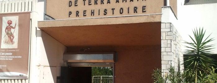 Musée de Paléontologie Humaine de Terra Amata is one of Museums Around the World-List 2.