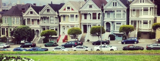 Alamo Square is one of SF.