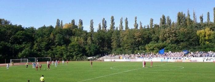 Poststadion is one of Lieux qui ont plu à Robert.
