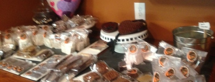 The Chocolate Door is one of Chapel Hill & Carrboro Favorites.