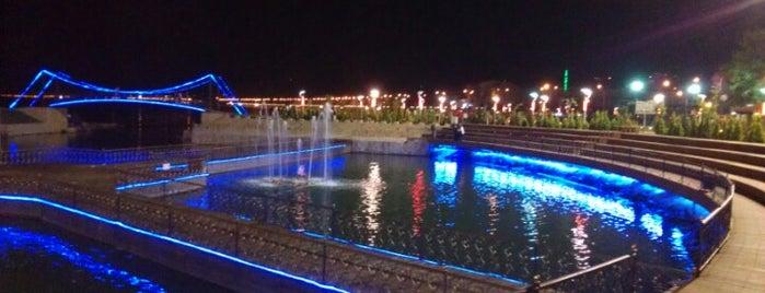 Atatürk Parkı is one of Lieux sauvegardés par Oktay.