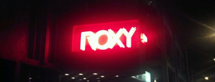 The Roxy is one of Best Live Music Venues.
