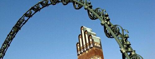 Hochzeitsturm is one of Darmstadt - must visit.