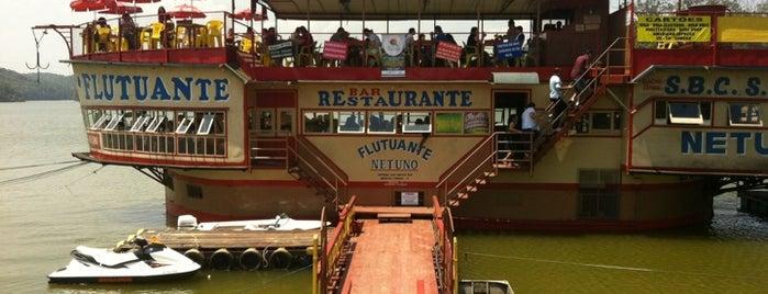 Restaurante Flutuante Netuno is one of Veja Comer & Beber ABC - 2012/2013 - Restaurantes.