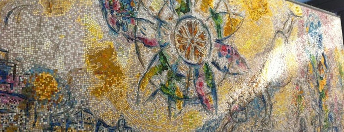 "Chagall Mosaic, ""The Four Seasons"" is one of Spring Break 2013."