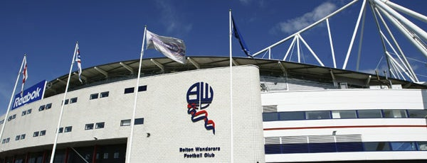 University of Bolton Stadium is one of Sky Bet Championship Stadiums 2015/16.