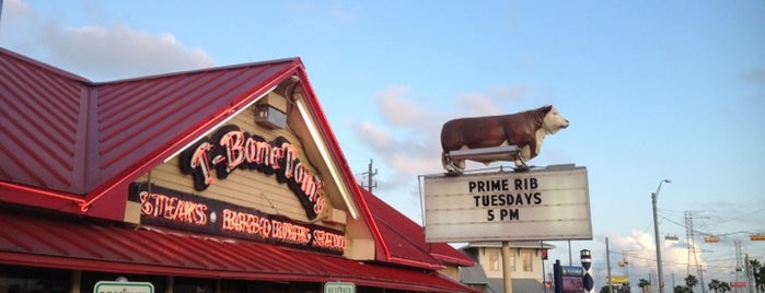 T-Bone Tom's is one of Diners, Drive-Ins, and Dives (Season 8).