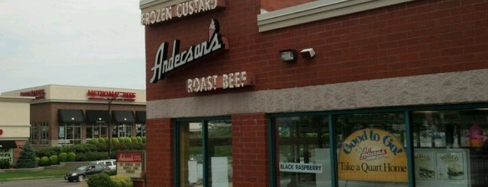 Anderson's Frozen Custard is one of Posti salvati di Laketa.