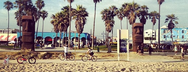 Venice Beach Boardwalk is one of Los Angeles Essentials.
