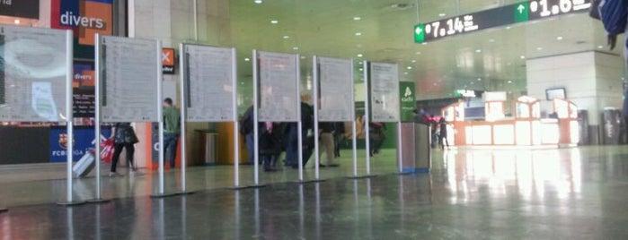 Estación de Barcelona Sants is one of 101 llocs a veure a Barcelona abans de morir.