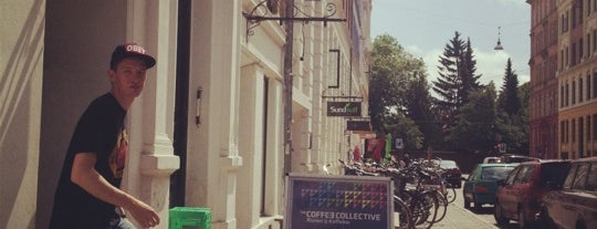 The Coffee Collective is one of Copenhagen / Malmö.