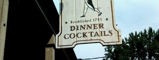 The Old '76 House is one of Historic Bars of New York City.