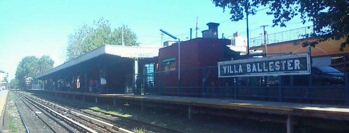 Estación Villa Ballester [Línea Mitre] is one of Estaciones Tren Linea Mitre J.L. Suarez.