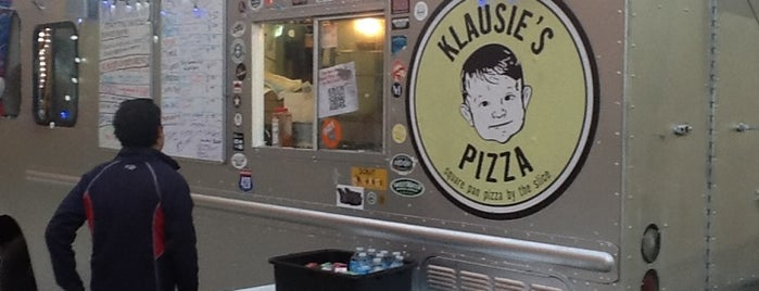 Klausie's Pizza Truck is one of Food Trucks.
