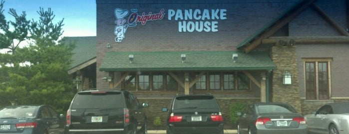 The Original Pancake House is one of Lugares favoritos de Kevin.