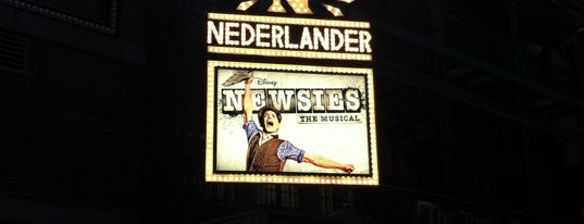 Nederlander Theatre is one of New York's Best Performing Arts - 2012.