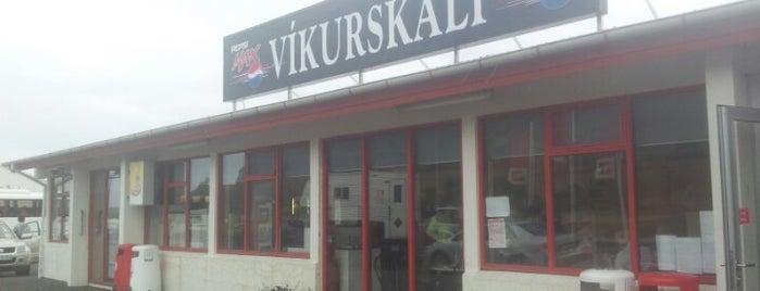 Víkurskáli is one of Iceland.