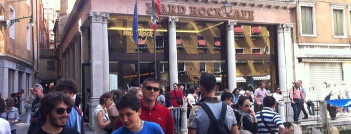 Hard Rock Cafe Venice is one of Eurotrip.