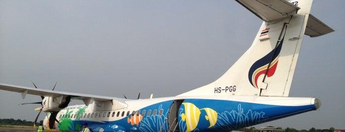 ท่าอากาศยานลำปาง (LPT) is one of AIRPORT.