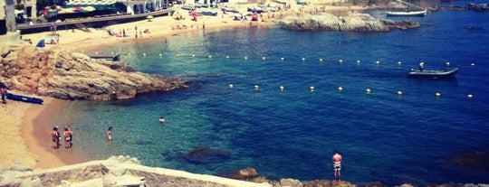 Platja del Port Pelegrí is one of Playas de España: Cataluña.