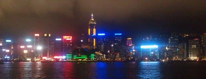 Tsim Sha Tsui Promenade is one of Looking @ Skylines.