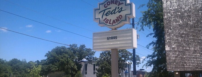 Ted's Coney Island is one of Des Moines.