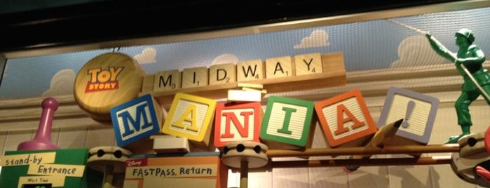 Toy Story Mania! is one of Florida Trip '12.