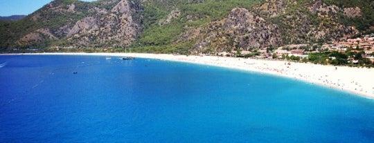 Belcekız Plajı is one of Bitti.
