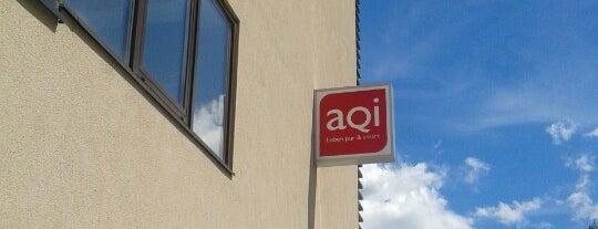 AQI Hotel is one of Orte, die Andrea gefallen.