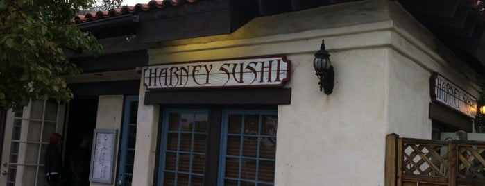 Harney Sushi is one of San Diego.