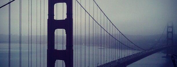 Golden Gate Bridge is one of San Francisco, CA Spots.