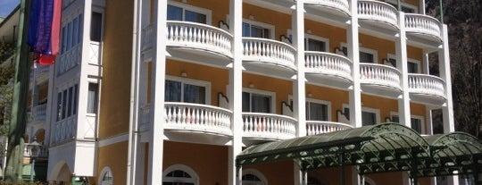 Grand Park Hotel Health & Spa is one of Orte, die FAHIM gefallen.