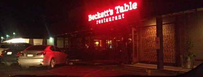 Beckett's Table is one of Arcadia/Biltmore.