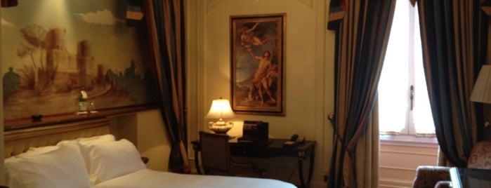 The St. Regis Rome is one of Bons plans Rome.