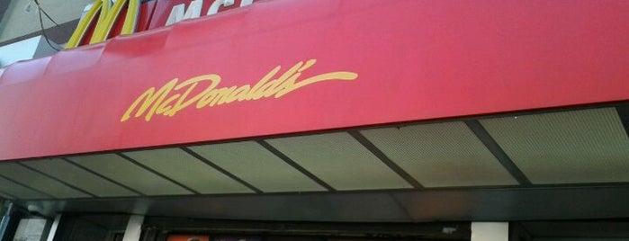 McDonald's is one of Lugares favoritos de Maurice.