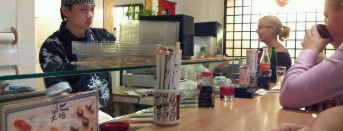 Sushi Haus is one of Locais curtidos por Andreas.