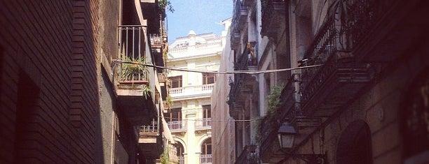 Barrio Gótico is one of Barcelona.