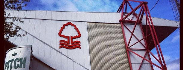 The City Ground is one of Lieux qui ont plu à Carl.