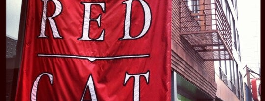 The Red Cat is one of RESTAURANTS TO VISIT IN NYC 🍝🍴🍩🍷.