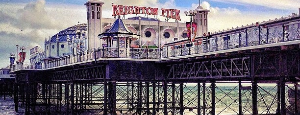 Brighton Palace Pier is one of Best places.