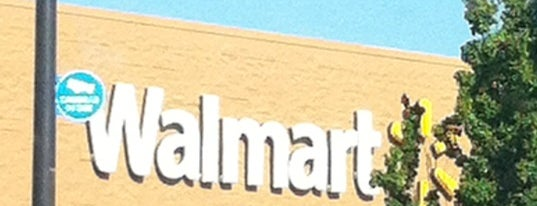Walmart Supercenter is one of my check ins.
